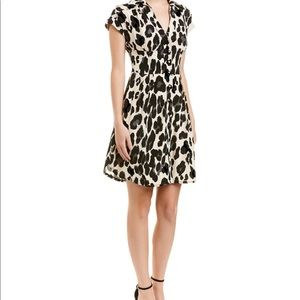 Nanette Lenore Big life silk shirt dress